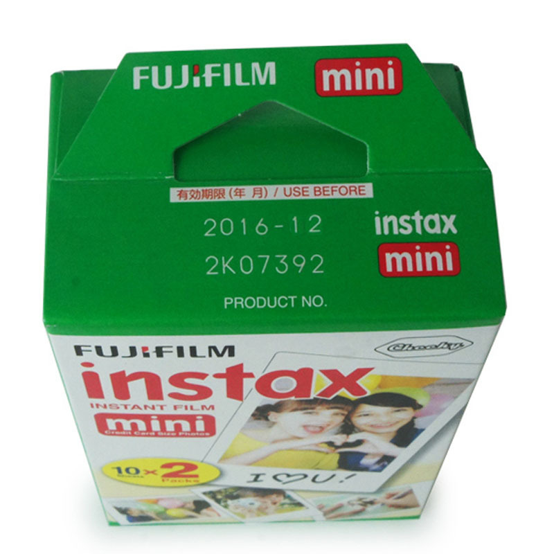 Genuine 100 sheets High quality Original Fujifilm instax mini 8 film for 7S 25 50s polaroid instant camera mini film white edage