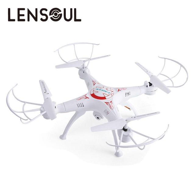 Lensoul Professional RC Drone Quadcopter with FPV WIFI 0.3MP Camera Headless 6-Axis Real Time RC Helicopter Quad copter Boy Toys