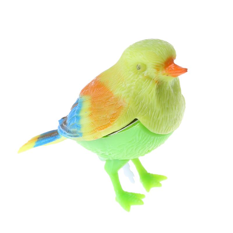 Baby Kids Toys Super Compact Gadgets Funny Voice Control Singing Bird Birds Desktop Decorations Decompression Toy