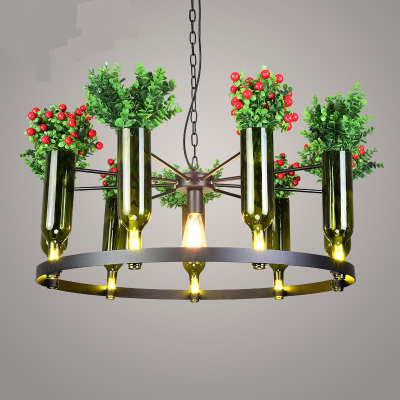 New Chinese plant Pendant Lights creative Chinese Vintage restaurant light garden glass clothing coffee bar desk lamp LU807108New Chinese plant Pendant Lights creative Chinese Vintage restaurant light garden glass clothing coffee bar desk lamp LU807108