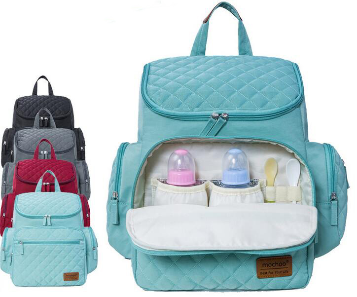 Diaper Bag Fashion Mummy Maternity Nappy Bag Brand Baby Travel Backpack Diaper Organizer Nursing Bag For Baby Stroller недорого