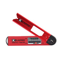 Kapro 무료 배송 전자 디지털 디스플레이 레벨 경사계 알루미늄 합금 목공 고정밀 레벨 각도 눈금자|레벨 측정기|도구 -