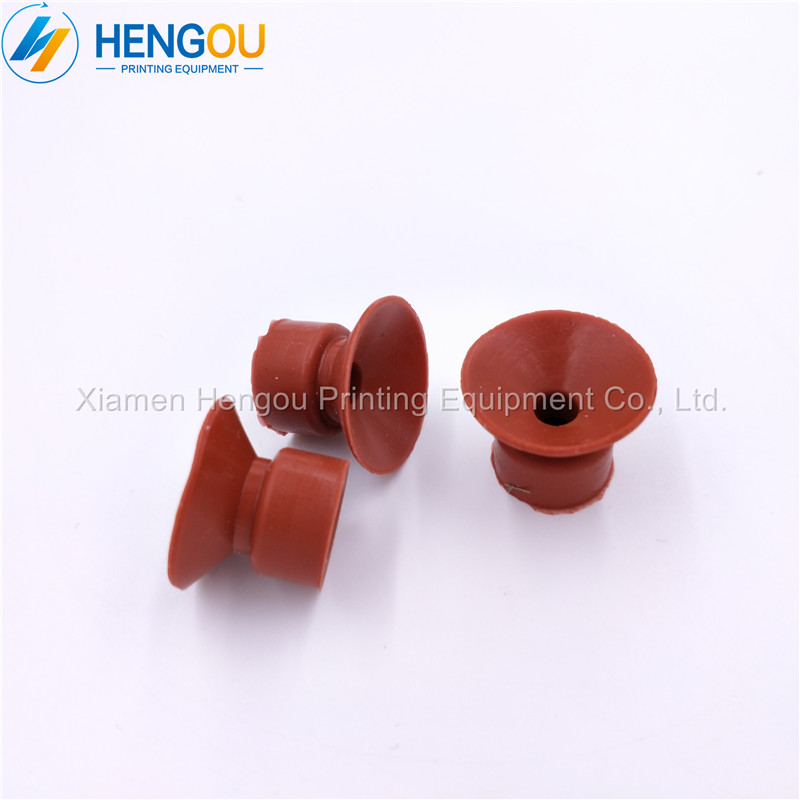 100 PIECES Suction nozzle of printing machine Binder suction nozzle printing rubber sucker 20x6x13mm