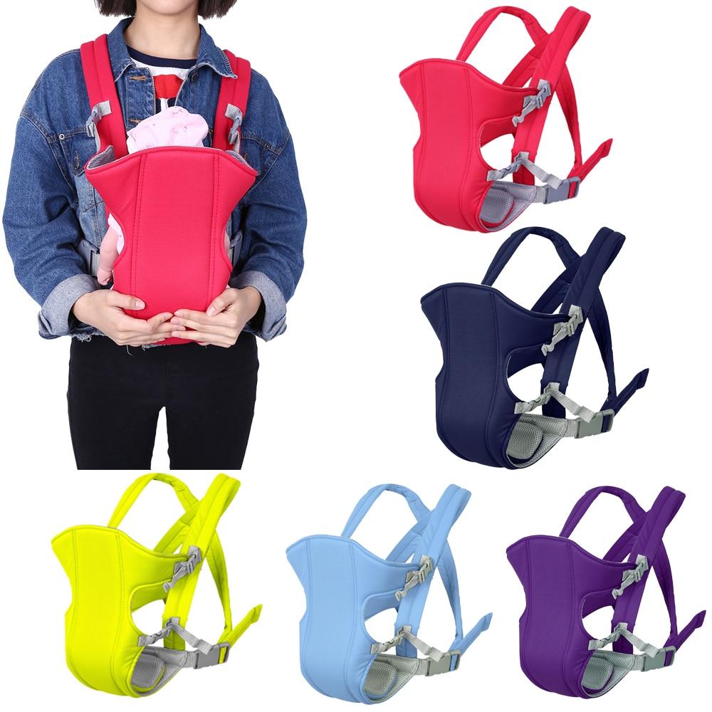 Baby Träger 3-16 Monate Infant Multi-funktionale Sling Baby Rucksack Pouch Wrap Känguru Atmungs Stoff Vorne heißer Verkauf