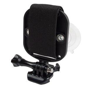 Image 3 - 2 in1ユニバーサル電話のストラップヘッドストラップマウント強力な吸引カップ + 胸stapマウント移動プロsjcam xiaoyiアクションカメラ