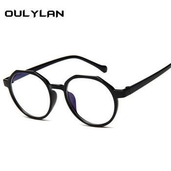 Retro Round Spectacle Transparent Eyeglasses Frames 1