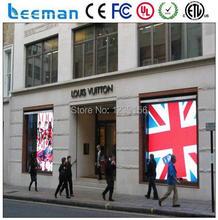 Leeman оптоэлектронные технологии ограниченной — P10 крытый прозрачное стекло из светодиодов экран из светодиодов видео экран для витрины