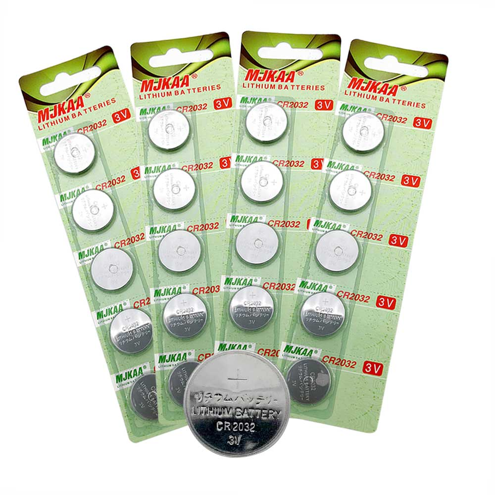 3v Batterie 20pcs Batterie Cr2032 Batteries 2032 3v Lithium Type Button Coin Cell Watch Battery 5004lc Ecr2032 Dl2032 Kcr2032 In Primary Dry Batteries From