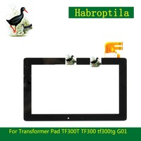 For Asus Transformer Pad TF300T TF300 Tf300tg G01 Version Black Digitizer Touch Screen Glass 69 10I21