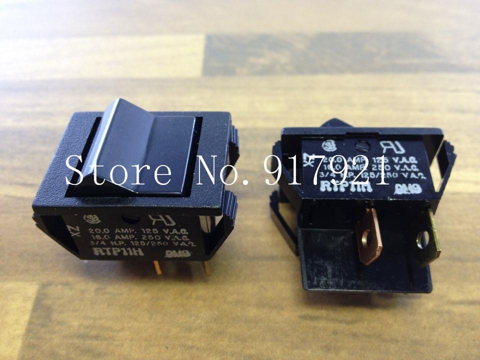 [ZOB] The original RTP11H rocker switch 16A250V to ensure genuine --50pcs/lot