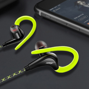 Image 5 - Earphones 3.5mm Sport Earphone Super Stereo Headsets Sweatproof Running Headset With Mic Ear Hook Headphone for Meizu Headphone