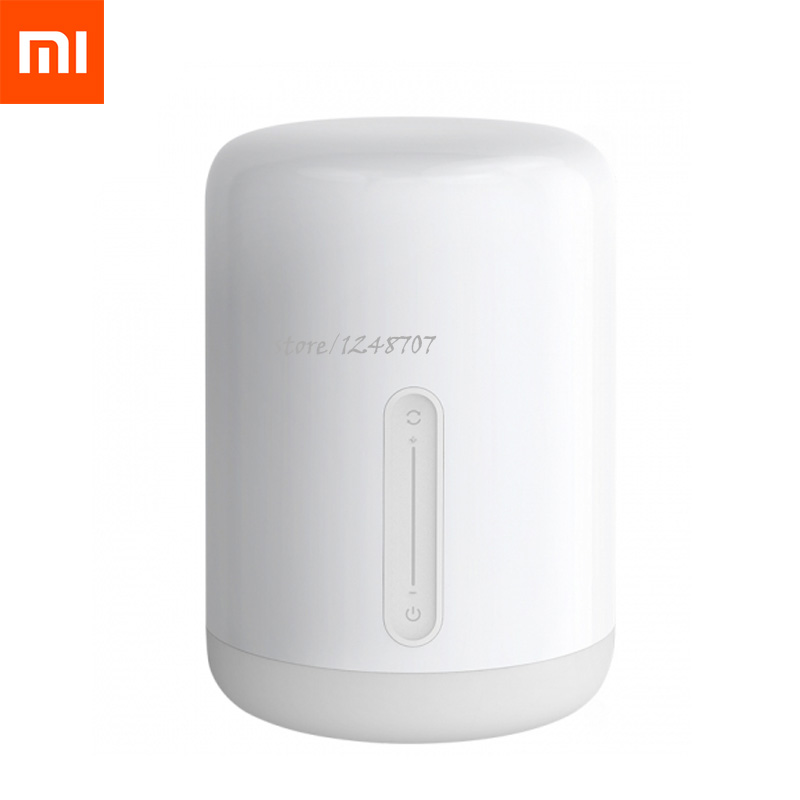 2019New Xiaomi Mijia Meter Bedside Lamp 2 Multiple Voice Control Touch Switch Smart APP Color Adjustment for Apple Home Kit-in Smart Remote Control from Consumer Electronics    1