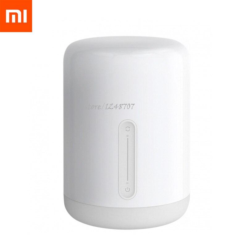 2019New Xiaomi Mijia Meter Nacht Lampe 2 Mehrere Voice Control Touch Schalter Smart APP Farbe Einstellung für Apple Home Kit-in Smarte Fernbedienung aus Verbraucherelektronik bei  Gruppe 1