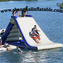 good seller inflatable water park inflatable slide and boucer combo on water inflatables swimming equipment