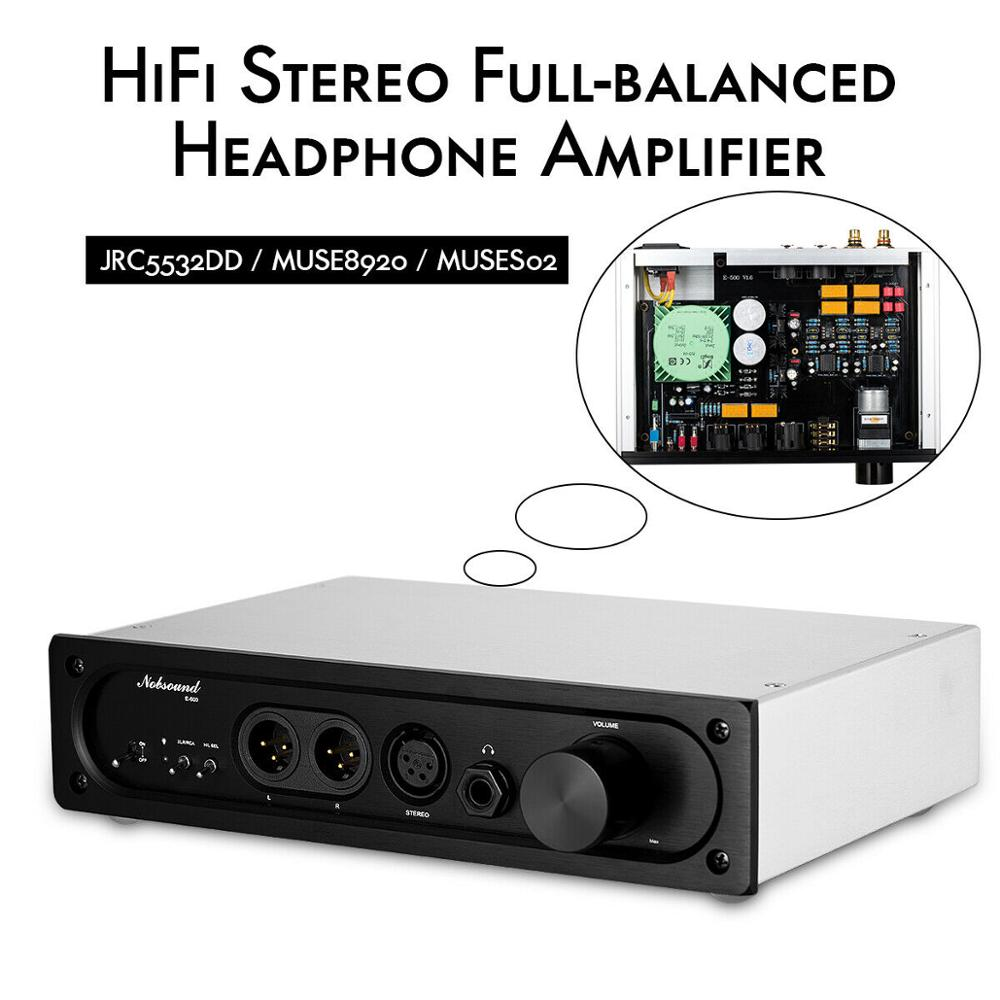 Nobsound  HiFi Stereo Full-balanced Input / Output Dual Core Low Distortion Headphone Amplifier TPA6120