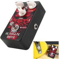 JOYO JF 02 Electric Guitar Effect Pedal True Bypass Design Ultimate Drive Guitar Effect Pedal With Aluminum Alloy Material