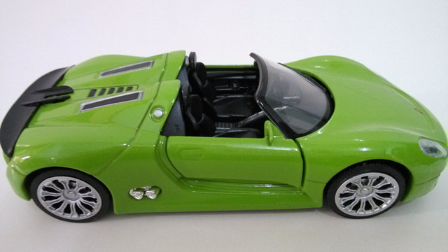 Toys For Boys To Color : Metal car toys for boys car luxury sports car light green color with