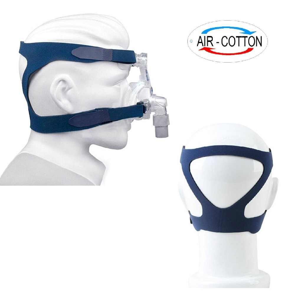 Cpap makinesi Burun Maskesi için Başlık Ile Uyku Apnesi Anti Horlama Arıtma Çözümü Oksijenerator Bağlantı Hortumu Ve Yüz