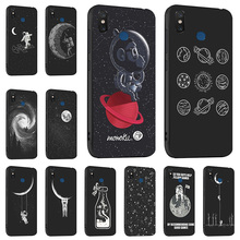 Ojeleye Fashion Black Silicon Case For Xiaomi Mi 8 Cases Anti-knock Phone Cover For Xiaomi Mi 8 SE Covers Coque Fundas