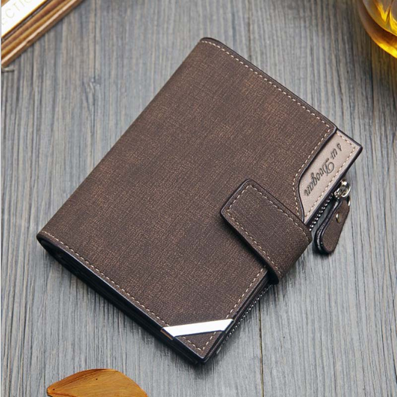 2018 new Korean version men's wallet vertical multifunction clasp clasp seventy percent off wallet short Wallet handbag 2018 new wallet european and american fashion eighty percent off ladies long wallet