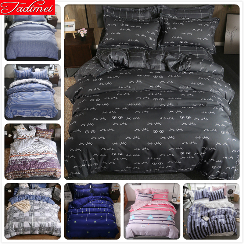 Adult Couple Double Big Size Quilt Comforter Duvet Cover Bedding Set Soft Cotton Bed Linen Queen King Bedspreads 180x220 220x240Adult Couple Double Big Size Quilt Comforter Duvet Cover Bedding Set Soft Cotton Bed Linen Queen King Bedspreads 180x220 220x240