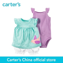 Carter's 3pcs baby children kids Bubble Short Set 121H483,sold by Carter's China official store