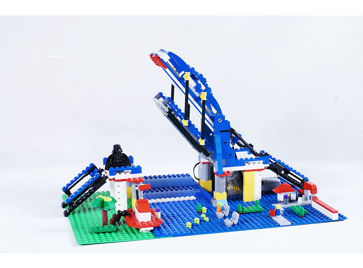 3 In 1 1170pcs Lepin 15033 Ferris Wheel Crane Compatible With Lego