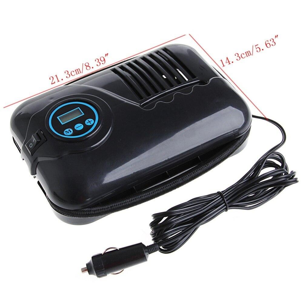 12V 250psi Digital Air Compressor Portable Car Van Inflator Pump Auto Cut Off