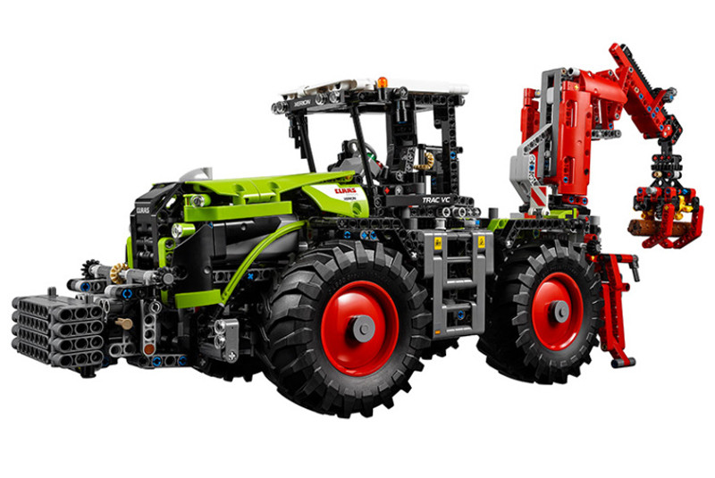2016 New LEPIN 20009 1977Pcs Technic  Xerion 5000 Tractor Vc Model Building Kits Blocks Bricks Compatible Toys Gift With 42054 siku трактор claas xerion 5000