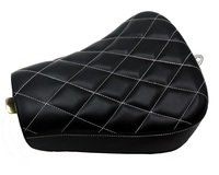 Front Driver Solo Seat Cushion For Harley Sportster Forty Eight XL1200 883 72 48
