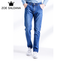 Zoe Saldana 2017 Men S Jeans Light Thin Fashion Brand Jeans Large Sales Of Spring Summer