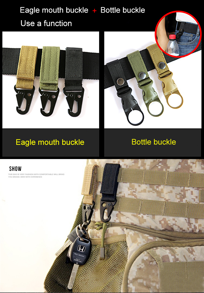 HTB1g.dOXeH2gK0jSZJnq6yT1FXan - NO.ONEPAUL Men's Military Classic Tactical Belt High Elastic Metal Hook Outdoor Training High Quality New Nylon Soldier Belts