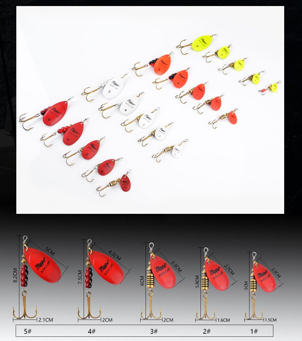 Цвет Size0-Size5 Рыбалка Жесткий Приманки Приманки фото