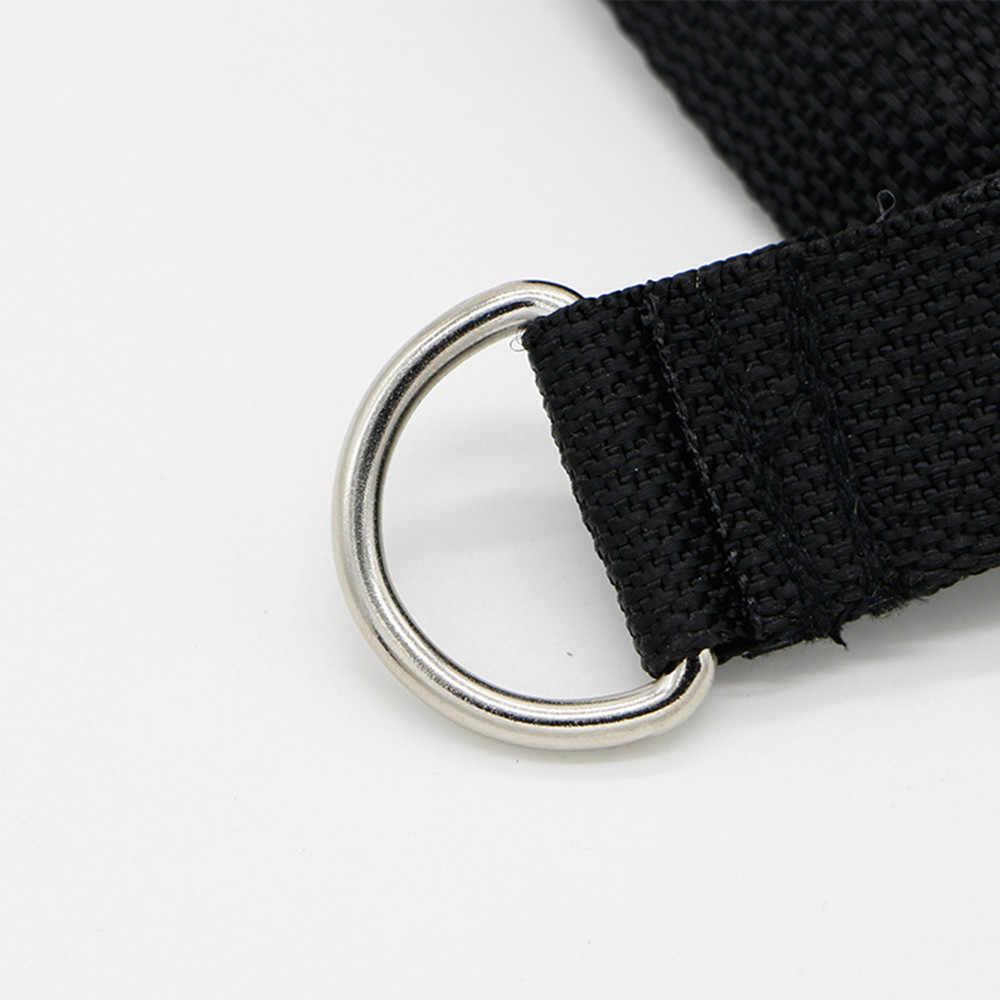 Di spessore di Schiuma Corda Tricipiti Cavo Maniglia del Collegamento Bar Resistenza Palestra di Allenamento Fascia D-anello di Molla di Trazione Corda Cavo Bar corda elastica