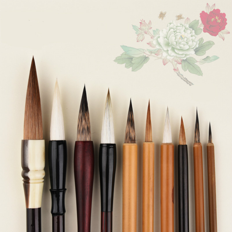 Exquisite Student Getting Started Meticulous Painting Freehand Flower and Bird Painting Watercolor Calligraphy Pen Stes getting started with cadkey