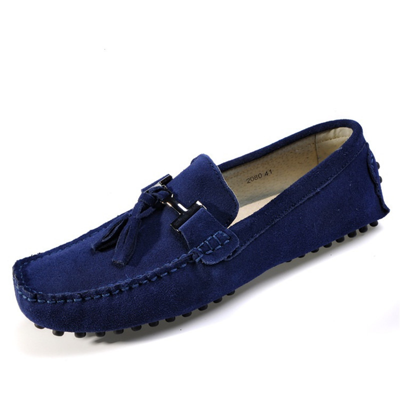 Brand Mens Casual Shoes 2017 Fashion Men Flats Shoes Genuine Leather Men Loafers Moccasins Slip On Men's Flats Male Lazy Shoes casual shoes 2016 fashion genuine leather loafers moccasins slip on flats shoes black golden sliver 3 colors