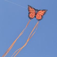 Новое поступление детский летающий змей игрушка творческий Бабочка кайт с хвостом 3 м легко летать Спорт на открытом воздухе игрушки животные воздушные змеи игрушки Дети подарок