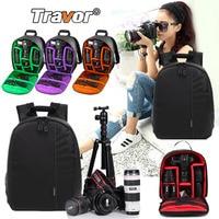 Travor Waterproof Multi functional Digital DSLR Camera Video Bag Small DSLR Nikon Canon Camera Backpack for Photographer