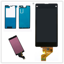 JIEYER 4.3''inch For Sony Xperia Z1 Mini Compact D5503 D5502 LCD Display Touch Screen Digitizer Full Assembly+Adhesive цена 2017