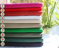 Handmade Clothing With Plain Pure Hemp Cotton Cloth Fabric Thickened Hanfu Cheongsam Double