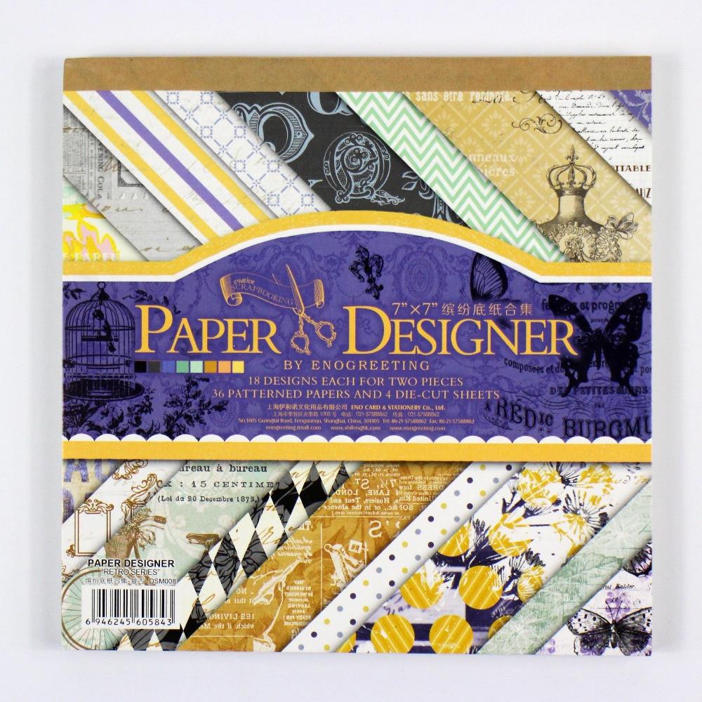 ENOGREETING 7 '' vintage 40 hojas patrón de estilo casero - Artes, artesanía y costura