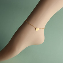 Sexy Gold Tone Love Heart Anklets For Women Anklet Girl Foot Jewelry Chain Ankle Bracelet