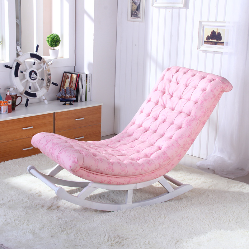 Leisure Xiao rocking chair recliner armchair balcony beanbag chair ...