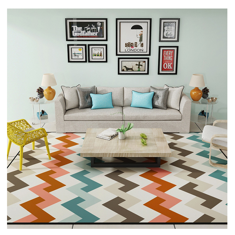Fasion Carpets For Living Room Rectangle Geometric Area - Alfombras Para Sala