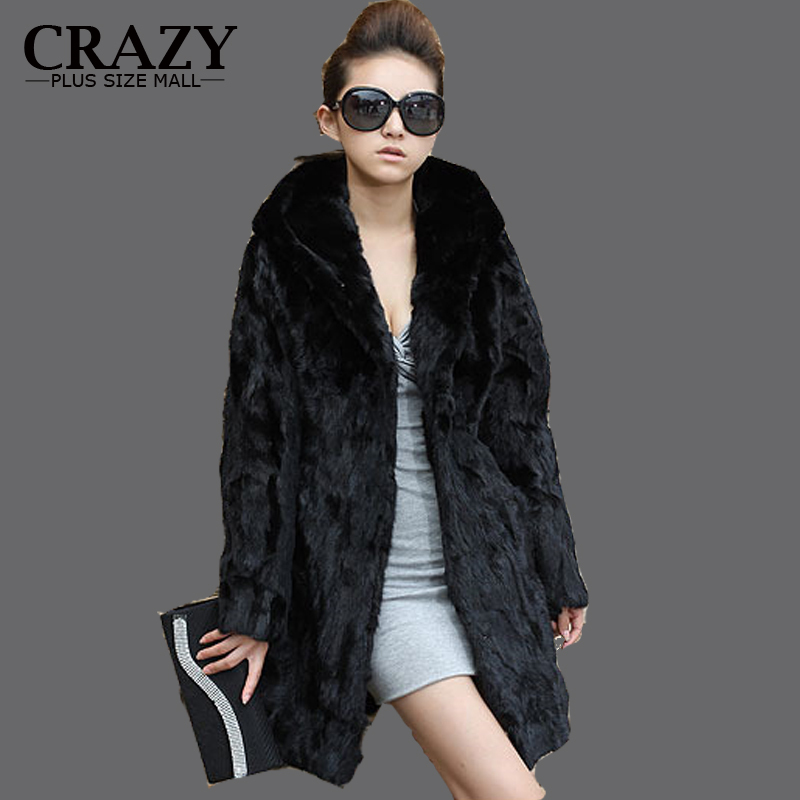 Online Buy Wholesale full length rabbit fur coat from China full ...
