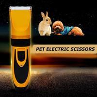 Electric Pet Hair Clipper Pet Dogs Cat Hair Trimmer Cutter Beauty Scissors