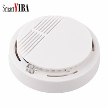 SmartYIBA Fire Smoke Sensor Detector High Sensitivity Wireless Alarm Home Store Shop Indoor Smoke Detector Security