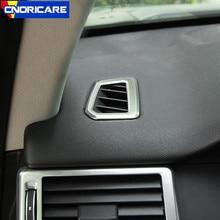 Автомобильная приборная панель кондиционер выпускная рама декоративная крышка Накладка для Land Rover Discovery Sport 2015-17 интерьерные наклейки