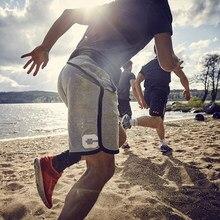 New Men Gym Training Loose Cotton Running Shorts