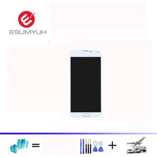 G900F LCD untuk Samsung Galaxy S5 LCD G900F G900M G900A G900T Display Touch Screen Digitizer Tombol Home untuk Galaxy S5 LCD Displa(China)